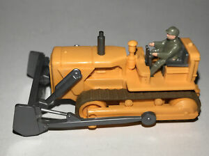 HO Scale Bulldozer w/ Operator • Wiking • Ready For Your Construction Site