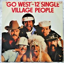 "Village People ‎– Go West 12"" Vinyl Single 1979 Funk/Soul/Disco 9198274 UK"