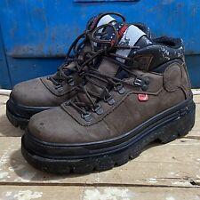 Vintage Kickers Survival Boots Eu 40 UK 6.5 Brown Nubuck Mountain