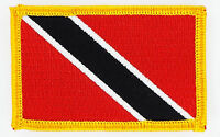 TRINIDAD AND TOBAGO FLAG PATCHES backpack  PATCH BADGE IRON ON NEW EMBROIDERED