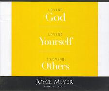 LOVING GOD LOVING YOURSELF & LOVING OTHERS       Joyce Meyer         4 CDs
