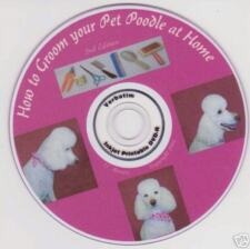 POODLE DOG grooming Instructional video DVD    2nd. Ed.
