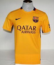 Nike Dri Fit FCB FC Barcelona Short Sleeve Football Soccer Jersey Men's NWT