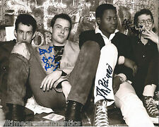 DEAD KENNEDYS GROUP HAND SIGNED AUTHENTIC AUTOGRAPH 8X10 PHOTO w/COA PROOF X3