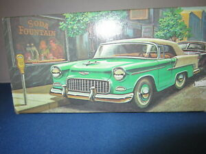 '55 Chevy Avon Decanter With Wild Country After Shave Collectible 1970s Full