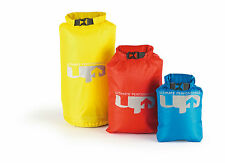 3 PIECE WATERPROOF COMPRESSION DRY BAG STUFF SACK SET - SMALL MEDIUM LARGE BAGS