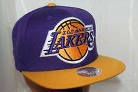 Los Angeles Lakers Mitchell & Ness NBA XL 2 Logo  Snapback,Cap,Hat  $ 36.00 NEW