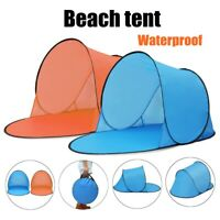 """56"""" Beach Summer Tent Up Quick open Tent Protection Awning Outdoor   E ❤ -"""
