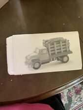 Dept 56 Snow village Pickup And Delivery Truck And Firewood delivery truck