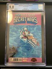 Deadpool's Secret Secret Wars #2 1ST APP GWENPOOL! PREDATES HOWARD THE DUCK #1!