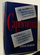 Capricornia by Xavier Herbert - 1943 - First American edition - pwe11