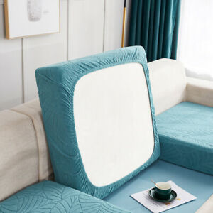 Saddle Cover Slipcovers Seat Cushions 1/2/3/4 Seater Sofa Cushion Cover
