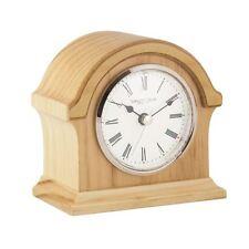 London Clock co 13cm leggero legno rompere Arch TOP MANTEL CLOCK