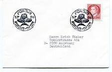 1984 PORJUS DAGEN Sverige Augsburg Polar Antarctic Cover