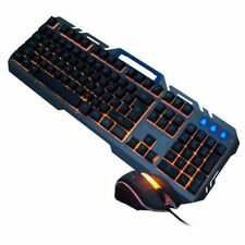 Gaming Mechanical Feel Keyboard and Mouse Wired USB Shipadoo D950