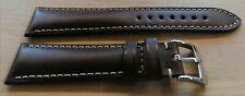 OMEGA SPEEDMASTER MOONWATCH CINTURINO WATCH STRAP mm.20 + STEEL BUCKLE