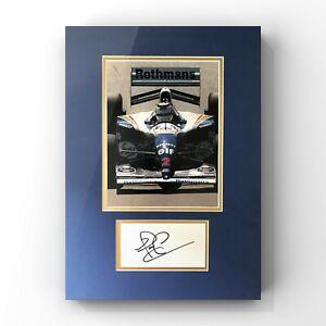 Nigel Mansell - Formula 1 Legend Signed Display