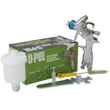 U-Pol Gravity Mini Spray Gun 1.0mm Fine Repair Car Paint Primer Topcoat + Cup