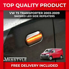 VW T5 TRANSPORTER 2003-2009 LED SMOKED SIDE REPEATER SIGNAL INDICATOR