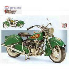 Guiloy #16228 1/6 INDIAN CHIEF 384 (1948) / Green Montana Diecast Model
