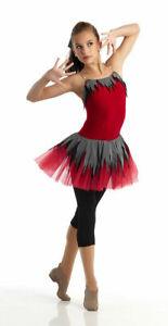 Adult XL URBAN JUNGLE Acro Ballet Unitard Jazz Tap