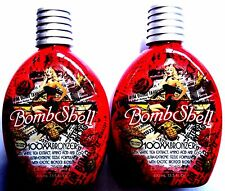 Lot of 2 Bombshell 100XX HOT Tingle Bronzer Tanning Lotion By Designer Skin
