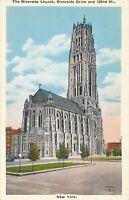 NEW YORK CITY –Riverside Church Riverside Drive and 122nd Street