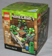 Original FIRST Lego 21102 MINECRAFT Micro World THE FOREST Set CUUSOO NEW NIB