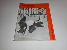 """Revue """" L'Animateur Culturel """" Avril 1970"""