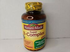 Nature Made Super-B Complex With Vitamin C Help Immune Support Health 360 Tablet