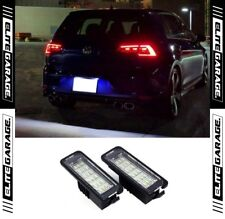 Volkswagen Golf MK7 GTI R Rear License LEDs Light Super Bright Xenon Error Free