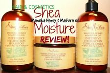 Shea Moisture Manuka Honey And Mafura Oil products-Shampoo-Conditioner-masque!!