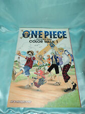 One Piece Color Walk Art Book English New/Unused Good Condition * Free Shipping*