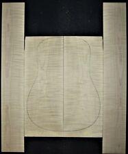 Guitar Luthier Tonewood CURLY FIGURED MAPLE Acoustic backs sides SET back side