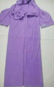 "The Slanket Cozy Fleece Wearable Throw Blanket One Size Lavender 60""x92"" Purple"