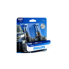 2 PCS Philips Headlight Bulb For 2007-2009 Acura CSX 2010 Buick High Beam Lamp