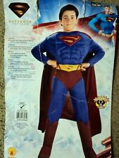 Superman Muscle Chest Halloween. Sz. Small 4-6. Nice!