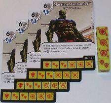 4 x MARTIAN MANHUNTER: MY TRUE FORM 26 Green Arrow and The Flash Dice Masters