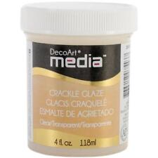 DecoArt Media Crackle Glaze 4oz (118ml) - Clear DMM16