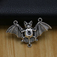 NEW 5/ 20/50ps Tibet Silver Alloy bat Charms Connector pendant beaded Jewelry