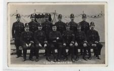 Y DIV POLICEMEN, DOCK STRIKE 1912: London postcard (C30282)