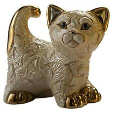 De Rosa Abanico Kitten Figurine F413 in Branded Gift Box