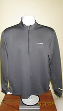 XL Sugoi Technifine Charcoal Gray Half 1/2 Zip Cycling LongS Jersey Shirt Jacket