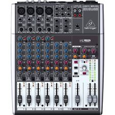 Behringer Xenyx 1204USB 12-Input 2/2-Bus Mixer Mic Preamp USB/Audio Interface