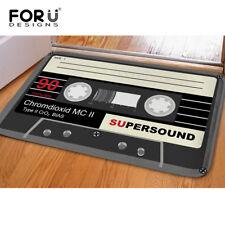 Tape Anti-slip Flannel Area Rug Modern Living Room Carpet Comfy Bedroom Floor
