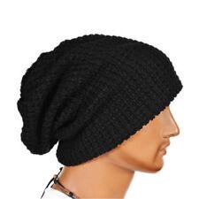 Big Sale Men Knitting Slouchy Beanie Cap Baggy Winter Hat Oversize Unisex Warm
