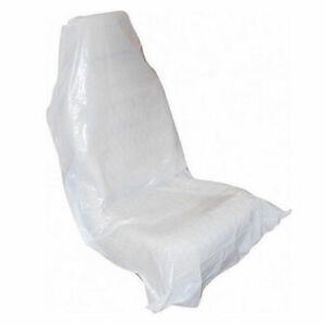 Disposable White Seat Covers (Boxed) - 100 Pieces, Free Delivery