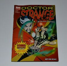 DOCTOR STRANGE LE  Signed by STAN LEE, JOE QUESADA & JIMMY PALMIOTTI Autographed