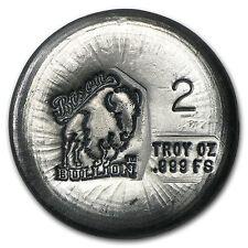 2 oz Silver Round - Bison Bullion - SKU #94803