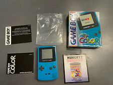 Nintendo GameBoy Color System -- Teal -- Complete in Box -- Tested